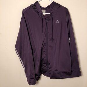 Adidas Purple track jacket